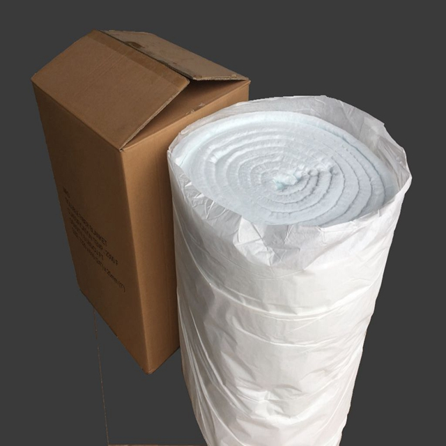 Bio Soluble Ceramic Fiber Insulation Blanket